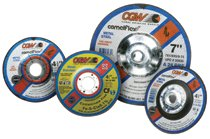 CGW Abrasives Depressed Center Wheels-Cutting / Notching - 1/8""