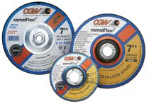 "CGW Abrasives Depressed Center Wheels- 1/4"" Grinding, Type 28"