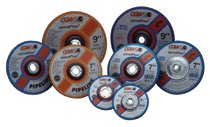 CGW Abrasives Depressed Center Wheels-Pipeline, Cutting/Light Grind