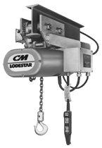 CM Columbus McKinnon Series 635 Lodestar Motor Driven Trolleys