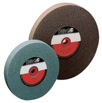 CGW Abrasives Bench Wheels, Green Silicon Carbide, Single Pack