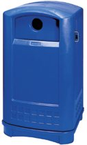 Rubbermaid Commercial Plaza® Bottle & Can Recycling Containers