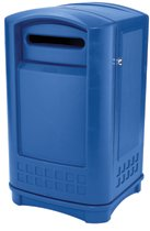 Rubbermaid Commercial Plaza® Paper Recycling Containers