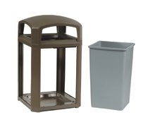 Rubbermaid Commercial Landmark Series™ Classic Containers