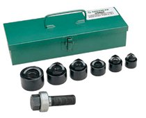 8 Pc. Standard Industrial Punch Kits