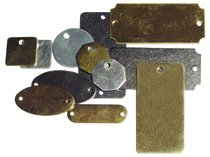 C.H. Hanson® Metal Blank Plates