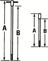 Proto® T-Handle Rods