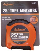Easy to Read Tape Measures