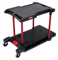 Rubbermaid Commercial Convertible Utility Carts