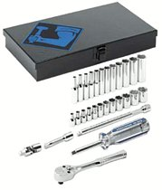 "Armstrong Tools 29 Piece 1/4"" Dr. Socket Sets"