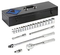 "Armstrong Tools 22 Piece 1/2"" Dr. Socket Sets"