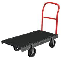 Rubbermaid Commercial Heavy-Duty Platform Trucks