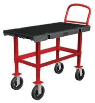 Rubbermaid Commercial Work Height Platform Trucks