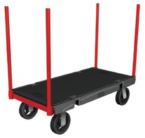 Rubbermaid Commercial Stanchion Trucks