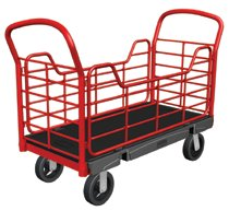 Rubbermaid Commercial Side Panel Platform Trucks