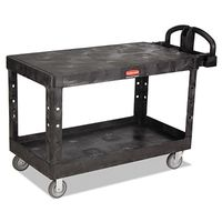 Rubbermaid Commercial Heavy-Duty Flat Shelf Utility Carts
