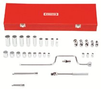 "Torqueplus™ 12-Point 3/8"" Drive Tool Socket Sets"