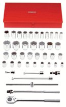 Proto® Torqueplus™ 42 Piece 12 & 6 Point Drive Tool Socket Sets