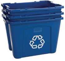 Rubbermaid Commercial Recycling Boxes
