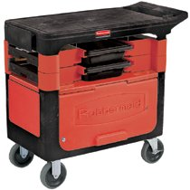 Rubbermaid Commercial Trades Carts