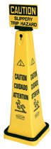 Rubbermaid Commercial Lock-in Sign Holders for Safety Cones