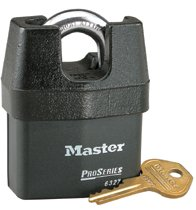 Master Lock Pro Series® High Security Padlocks-Solid Iron Shroud