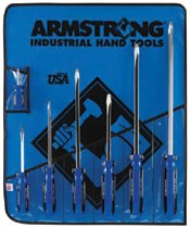 Armstrong Tools Square Shank Screwdriver Sets