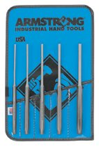 Armstrong Tools 5 Piece Long Pin Punch Sets