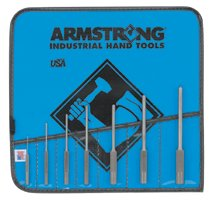 Armstrong Tools 7 Piece Roll Pin Punch Sets