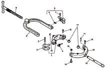 Ridgid® 466C Hinged Pipe Cutter Slides