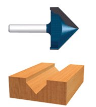 Bosch Power Tools Carbide-Tipped V-Grooving Router Bits