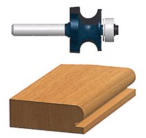 Bosch Power Tools Carbide-Tipped Ball Bearing Pilot Edge Beading Router Bits