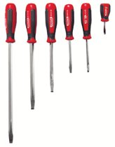 Proto® 6 Pc. Standard Tip Square Shank Screwdriver Sets