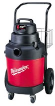 Milwaukee® Electric Tools Poly Tank Vacuum Cleaners