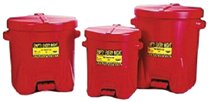 Polyethylene Oily Waste Cans
