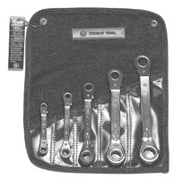 Wright Tool 5 Pc. Ratcheting Offset Box Wrench Sets