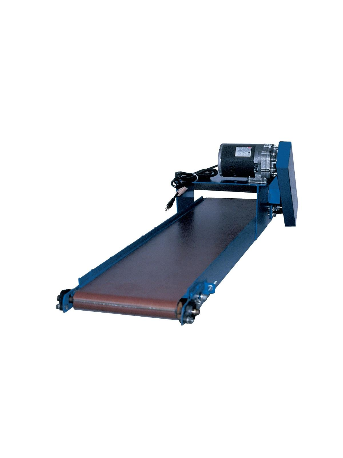 Slim line power conveyor at nationwide industrial supply llc Motorized conveyor belt