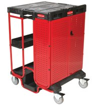 Rubbermaid Commercial Ladder Carts