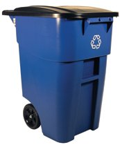 Rubbermaid Commercial Brute® Recycling Rollout Containers