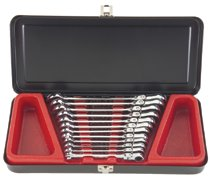 Blackhawk™ 12 Pc. Locking Flex-Head Geared Wrench Sets