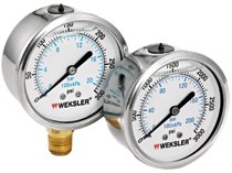 Liquid Filled Gauges w/Stainless Steel Case