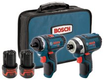 Bosch Power Tools Litheon™ Cordless Combo Kits