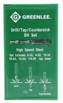 Greenlee® Drill/Tap Sets