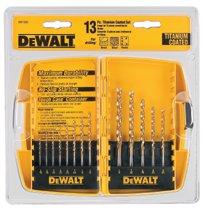 DeWalt® Titanium Split Point Drill Bit Sets