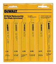 DeWalt® Reciprocating Blade Sets