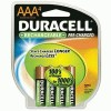 Duracell® Pre-Charged Rechargeable Batteries