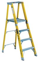Louisville Ladder® FP1100HD Series Rhino 375™ Fiberglass Platform Step Ladders