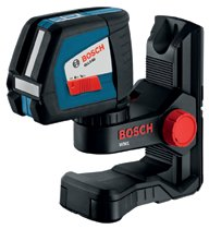 Bosch Power Tools Self-Leveling Cross-Line Lasers