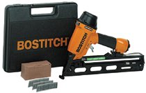 Bostitch® Industrial Oil Free Angled Finish Nailer Kits