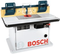 Bosch Power Tools Bench top Router Cabinet-Style Tables